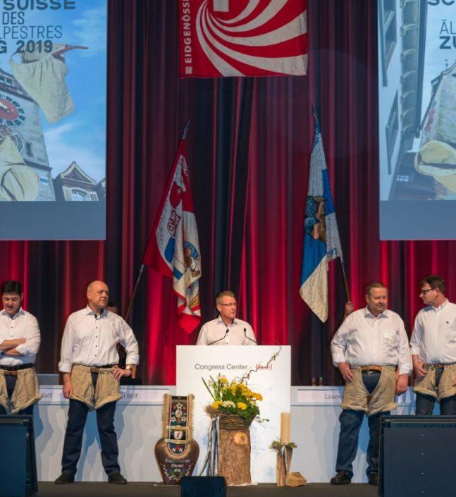Abgeordneten Versammlung ESAF Zug- 2019