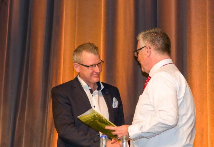 Heinz Taennler und Paul Vogel Abgeordneten Versammlung ESAF 2019 Zug