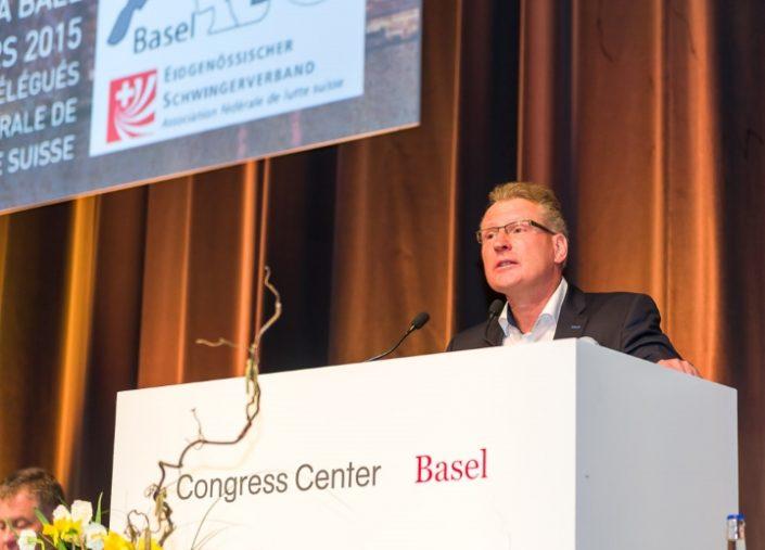 Heinz Taennler Abgeordneten Versammlung ESAF 2019 Zug